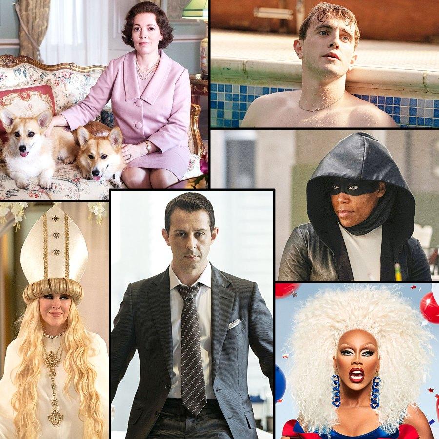 Emmys 2020 See Full List Nominees Winners Olivia Colman Paul Mescal Regina King RuPaul Jeremy Strong Catherine OHara