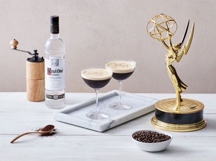 Ketel One Double Brewed Espresso Martini Emmys Winners Can Drink Along From Home With Award-Worthy Cocktails