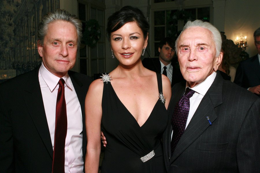 February 2020 Kirk Douglas Michael Douglas and Catherine Zeta-Jones Timeline of Their Longtime Romance