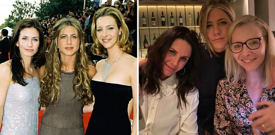 Friends Where Are They Now Jennifer Aniston Courteney Cox Lisa Kudrow