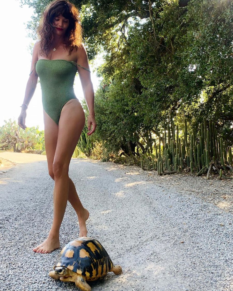 Helena Christensen, 51, Looks Incredible in Stylish One-Piece