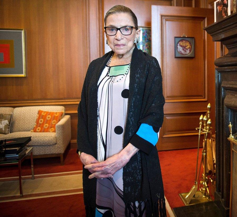 Hollywood Mourns Ruth Bader Gisburg