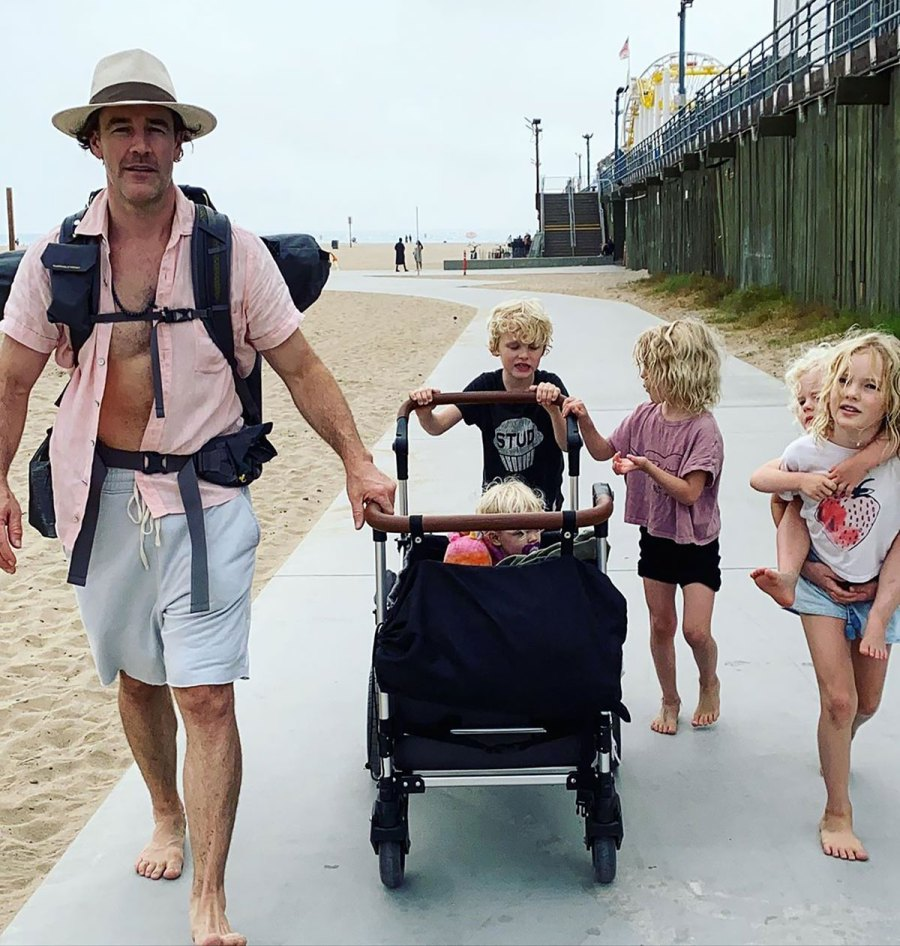 James Van Der Beek's Sweetest Moments With His Family: Beach Days and More