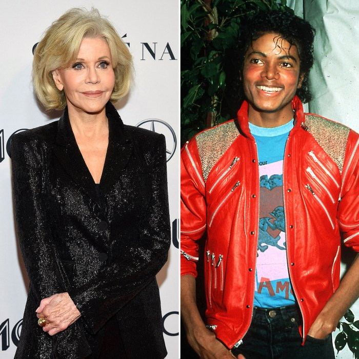 Jane Fonda Once Went Skinny Dipping With Michael Jackson