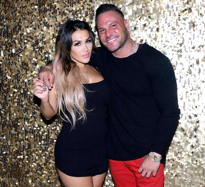 Ronnie Ortiz-Magro Ex Jen Harley Packs PDA With Chad Johnson