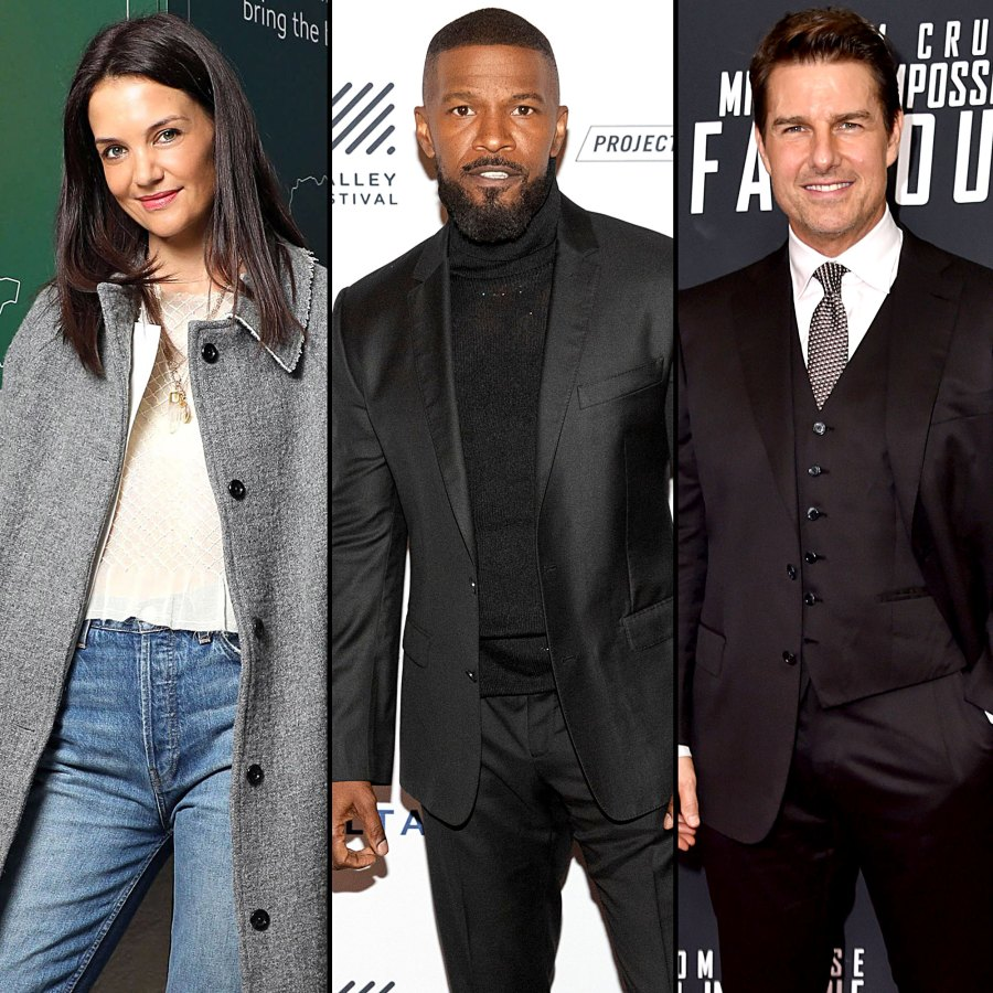 Katie Holmes Dating History Jamie Foxx Tom Cruise