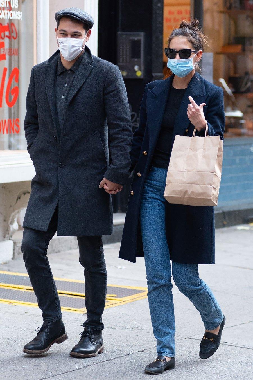 Katie Holmes and Emilio Vitolo Jr.'s Couple Style