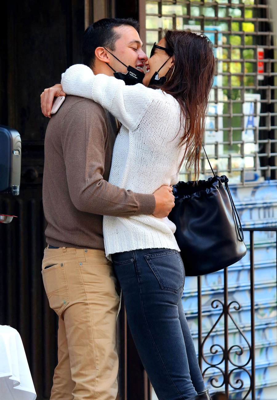 Katie Holmes in Love With Boyfriend Emilio Vitolo Jr PDA