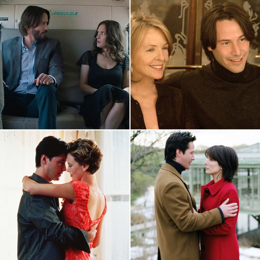 Keanu Reeves' Best Onscreen Romances: Winona Ryder, Diane Keaton and More
