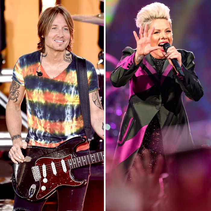 Keith Urban and Pink Perform Their New Song One Too Many at ACM Awards 2020