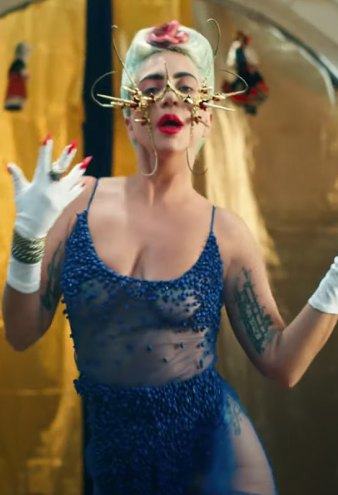 Lady Gaga 911 music video look