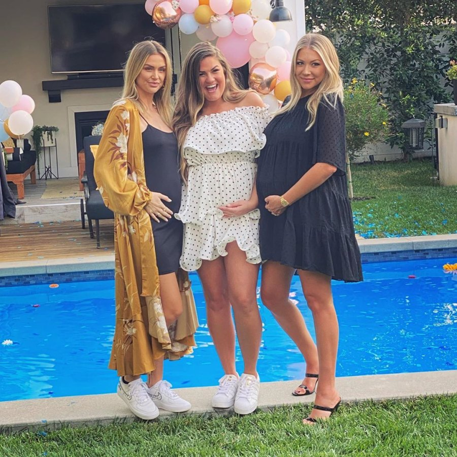 Lala Kent Brittany Cartwright Stassi Schroeder baby bump