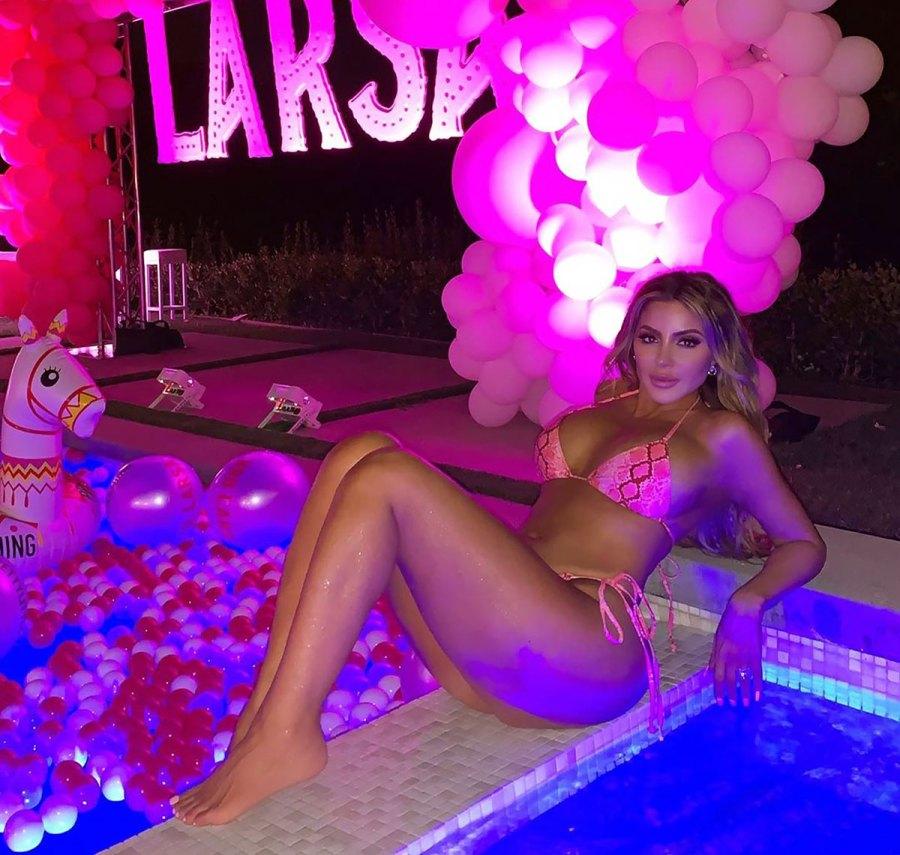 You Have to See Larsa Pippen Slay in a Snakeskin String Bikini