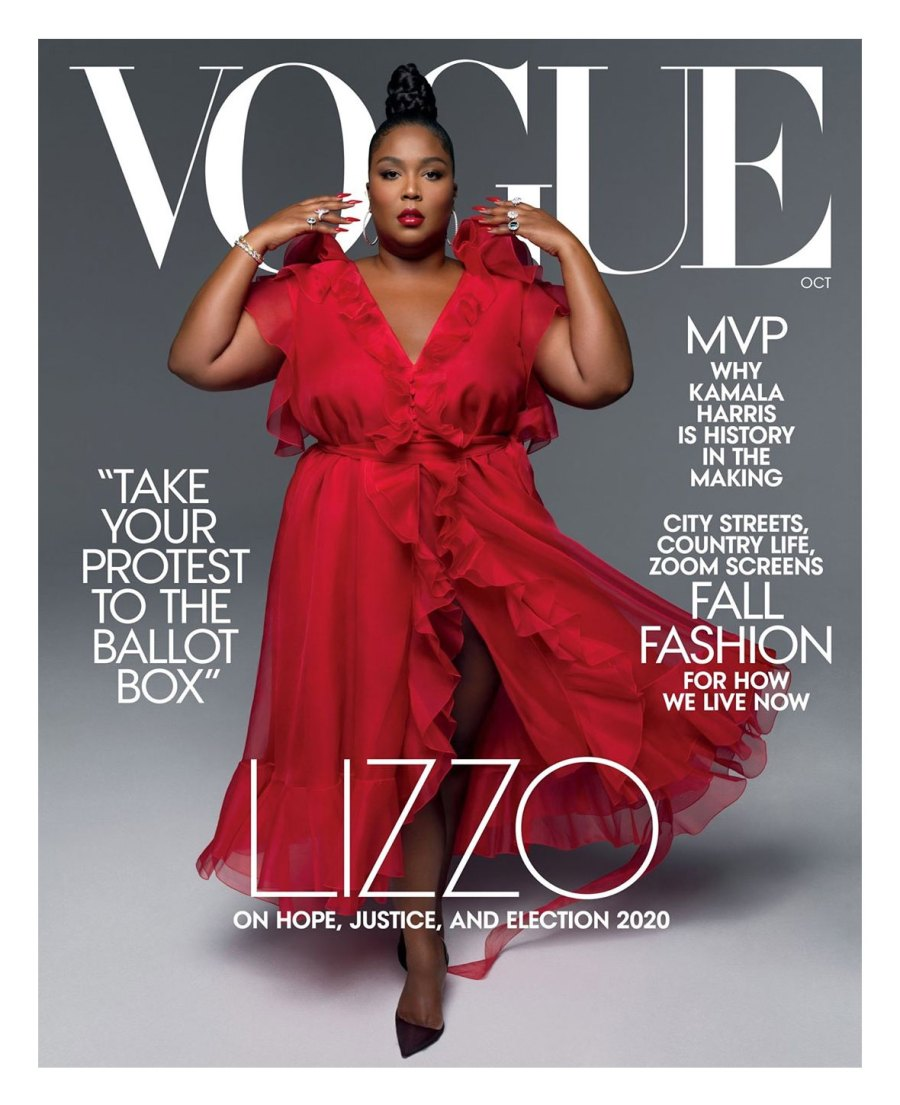 Lizzo Vogue Cover October 2020