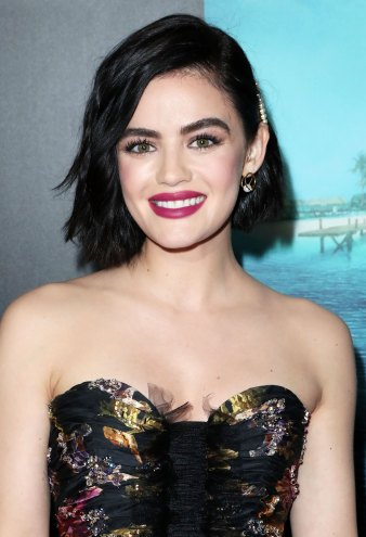 Lucy Hale Debuts Red Strands and We're Obsessed