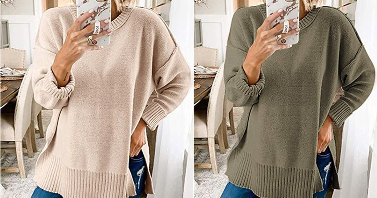 This Is the Ideal Oversized Sweater to Pair With Your Favorite Leggings.jpg