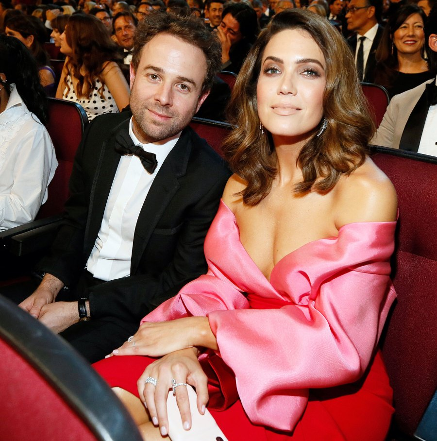 Taylor Goldsmith and Mandy Moore at the 71st Primetime Emmy Awards Mandy Moore Is Pregnant and Expecting First Child With Husband Taylor Goldsmith