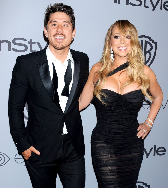 Mariah Careys Boyfriend Bryan Tanaka Celebrates Her Memoir