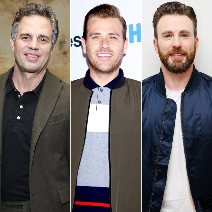 Mark Ruffalo and Scott Evans React to Brother Chris Evans Leaked Nude Pic