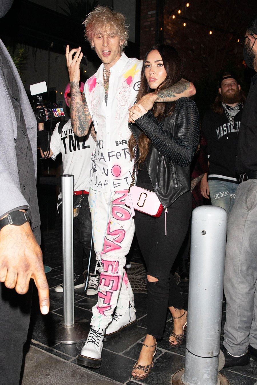 Megan Fox and Machine Gun Kelly Celebrate His Album Release