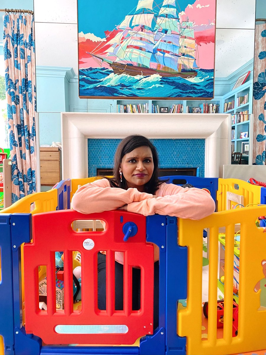 Mindy Kaling Outsmarted By Daughter Katherine