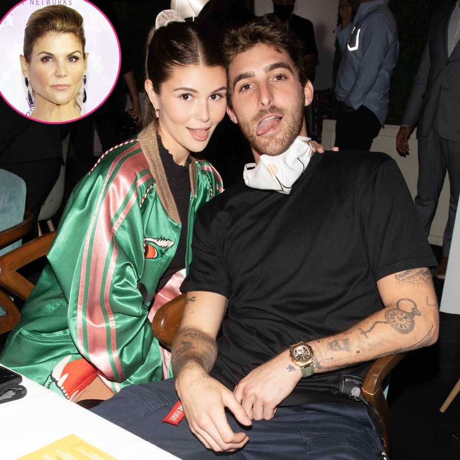 Olivia Jade Giannulli Gets Silly During Night Out With Boyfriend Jackson Guthy Before Mom Lori Loughlin Prison Sentence