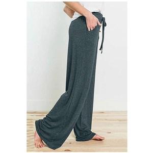 PRETTYGARDEN Women's Casual Pajama Pants (Dark Green)
