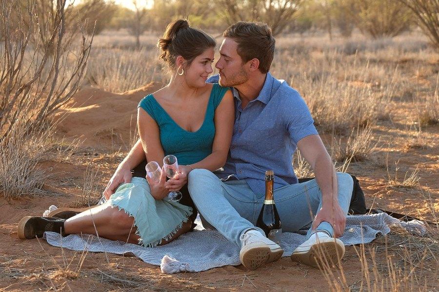Peter Weber and Hannah Ann Sluss Celebrity Couples Who Cut Their Engagements Short