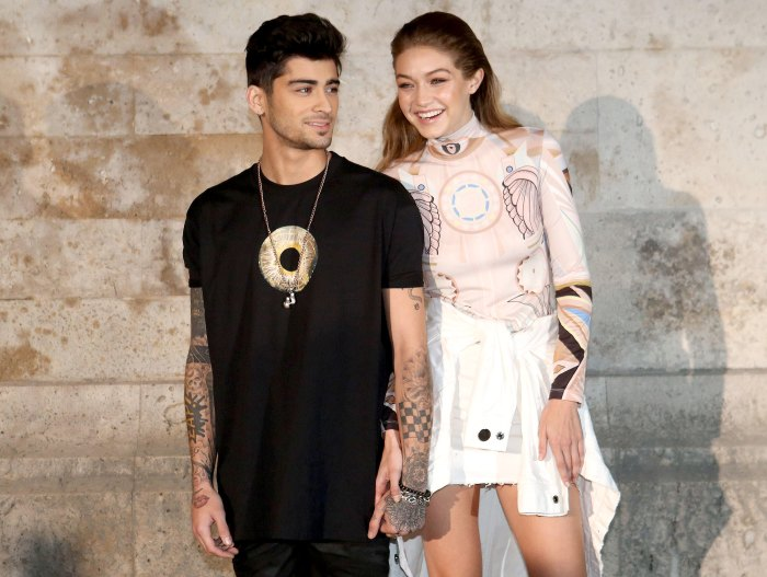 Pregnant Gigi Hadid Gets Flirty With Zayn Malik Ahead of New Baby Arrival