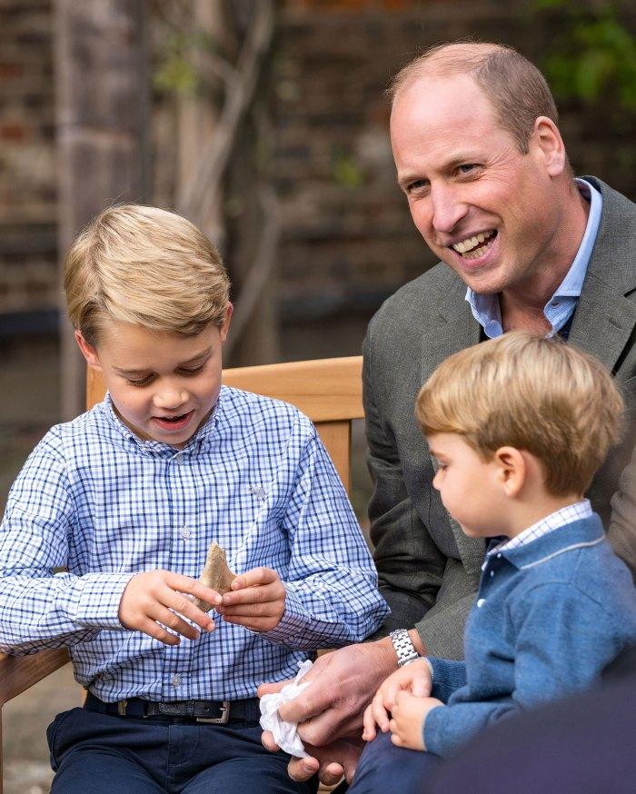 Prince Louis Shark Tooth Prince George William