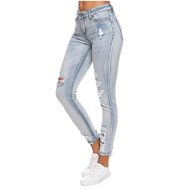 Resfeber Women's Ripped Boyfriend Jeans 3