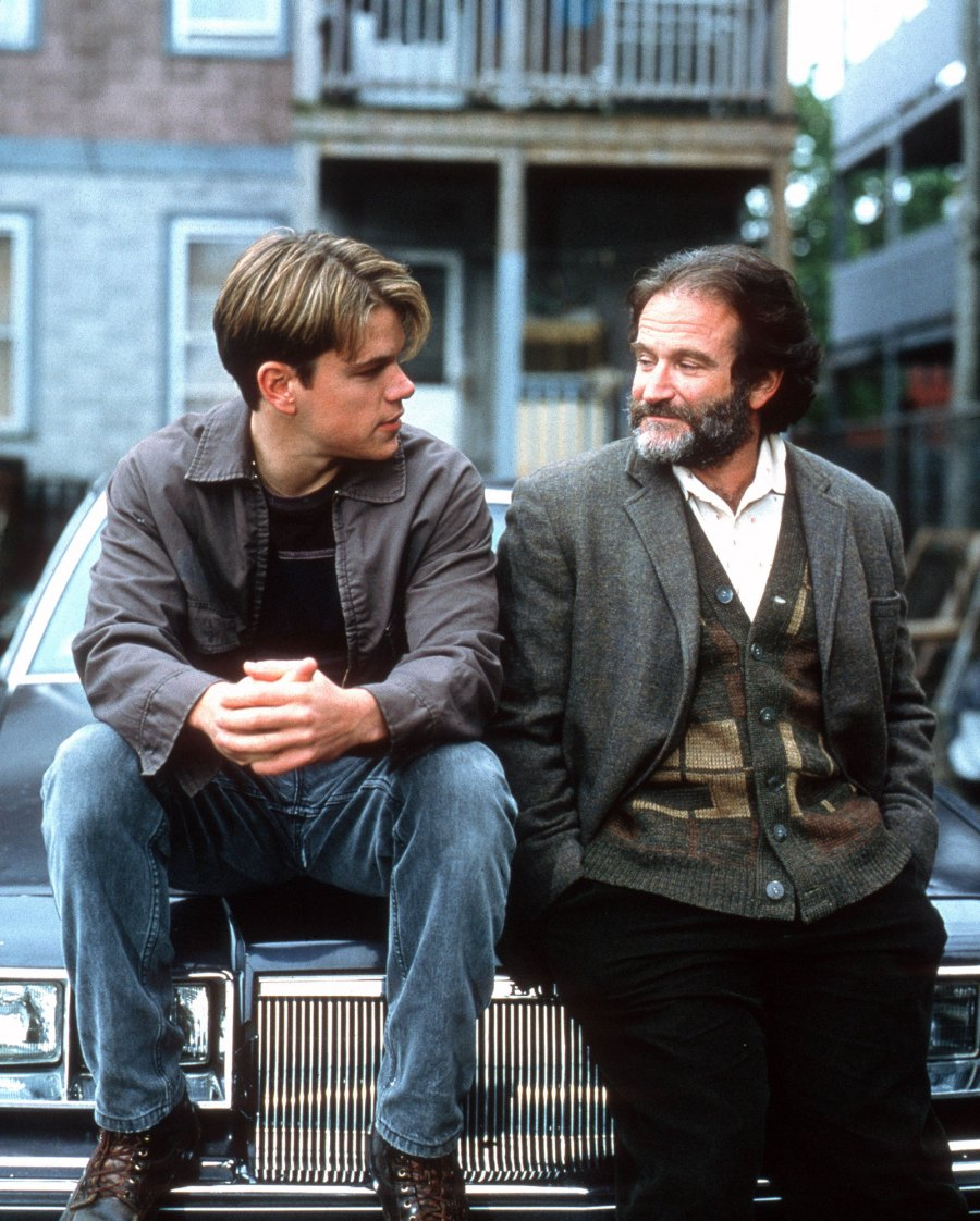 Robin Williams in Good Will Hunting Comedic Actors Dramatic Turns