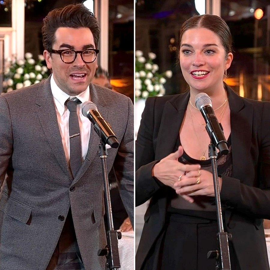 Warmest Regards Schitts Creek Stars Reunite Emmys Win Big Emmys 2020 Annie Murphy
