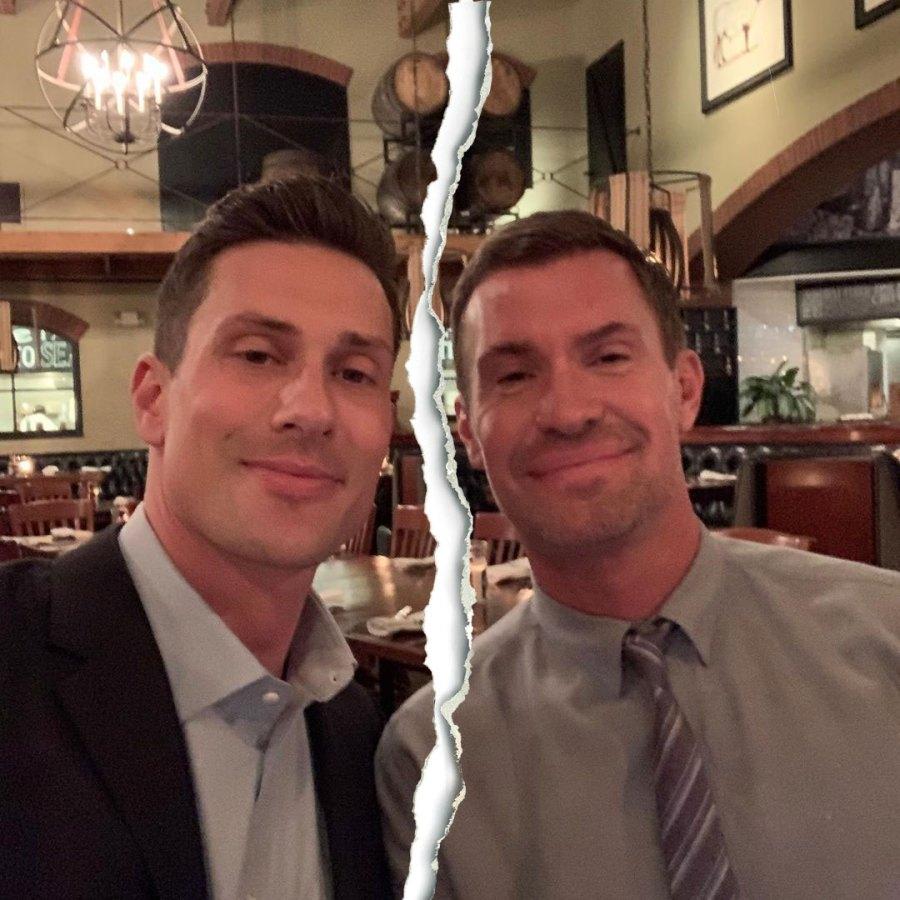 Scott Anderson and Jeff Lewis Instagram Split Tear