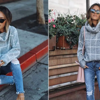 We May Have Found the Dreamiest Turtleneck Sweater on Amazon Right Now