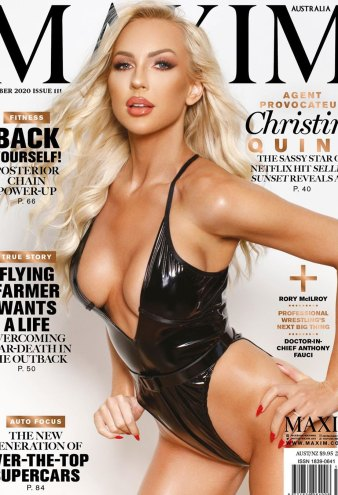 Selling Sunsets Christine Quinn Sexy Maxim Cover