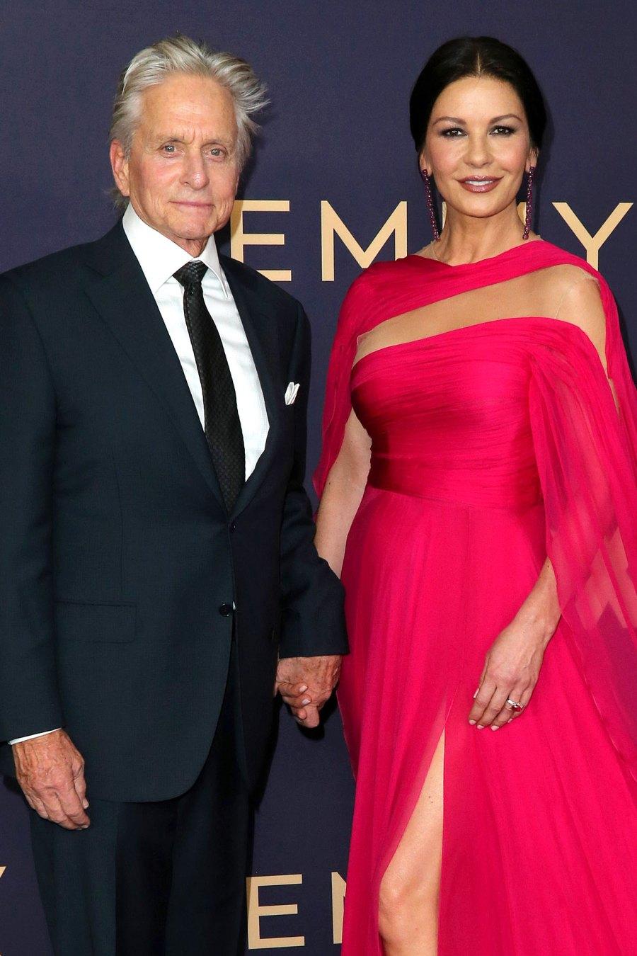 September 2020 Emmys Michael Douglas and Catherine Zeta-Jones Timeline of Their Longtime Romance