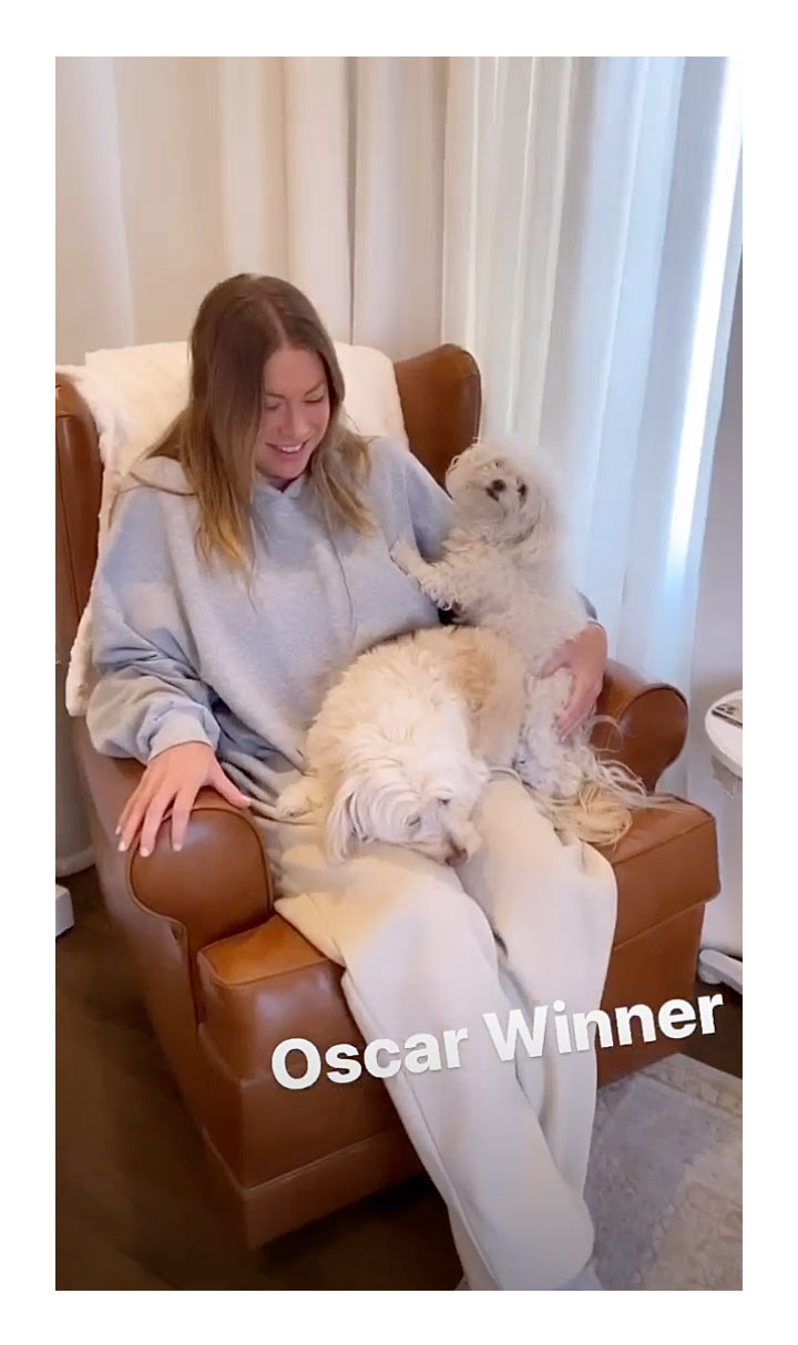 Stassi Schroeder Belly Bump Pregnant Instagram Dogs
