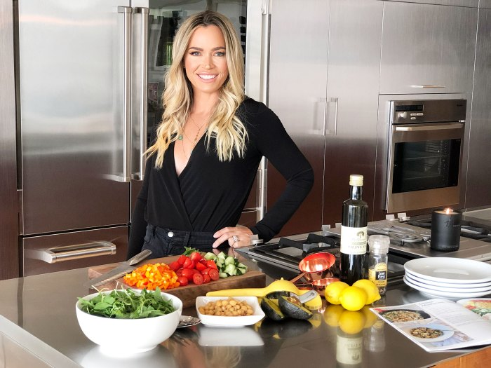 Teddi Mellencamp Shares Her Recipe for a Quick and Healthy Chickpea Salad