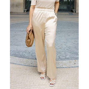 The Drop Women's Sand Pull-On Pant by @sabthefrenchway