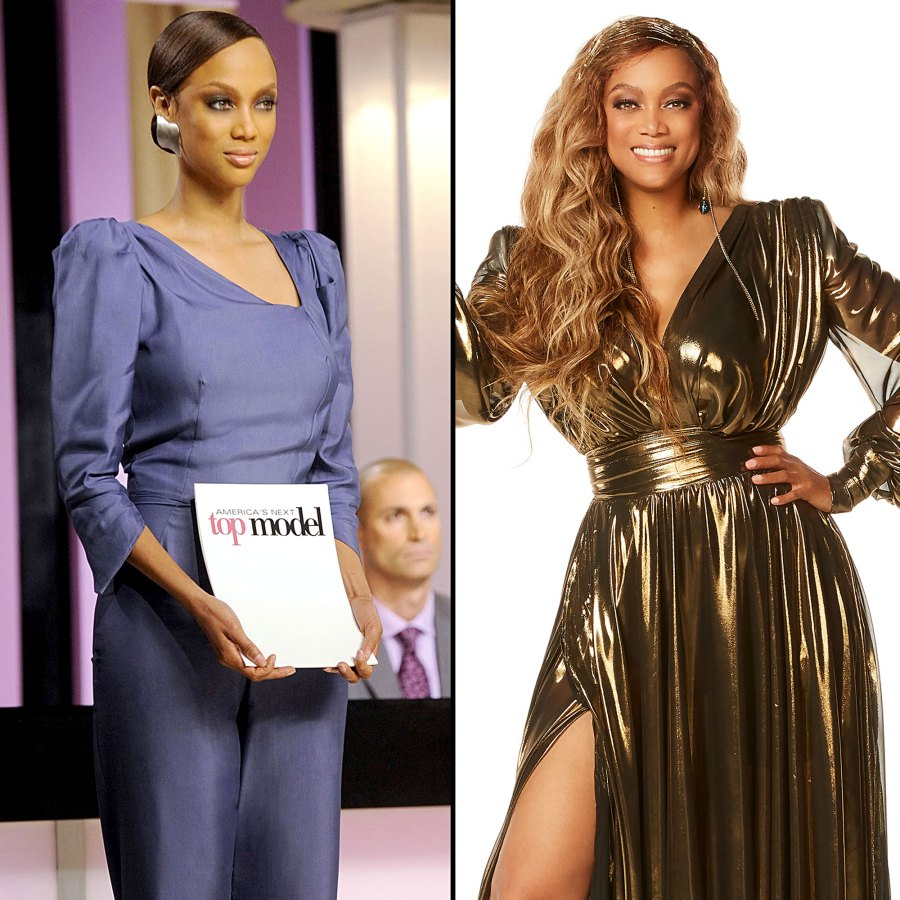 Tyra Banks Hosting Duties Through Years From ANTM to DWTS