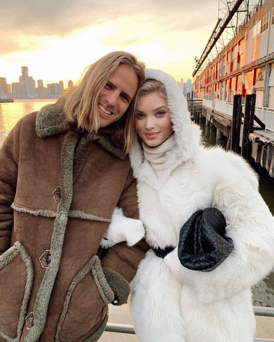 Victoria's Secret's Elsa Hosk Is Pregnant Expecting 1st Child With Tom Daly