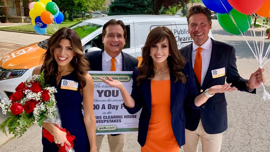 Marie Osmond Filmed New Commercials With the Publishers Clearing House Prize Patrol