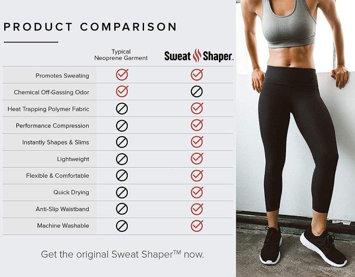 Leggings adelgazantes de compresión Sweat Shaper