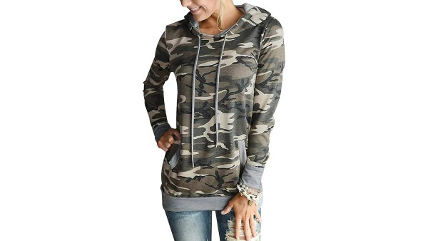 TEMOFON Casual Pullover Hoodie