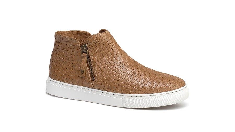 Trask Lora Woven Sneaker Bootie