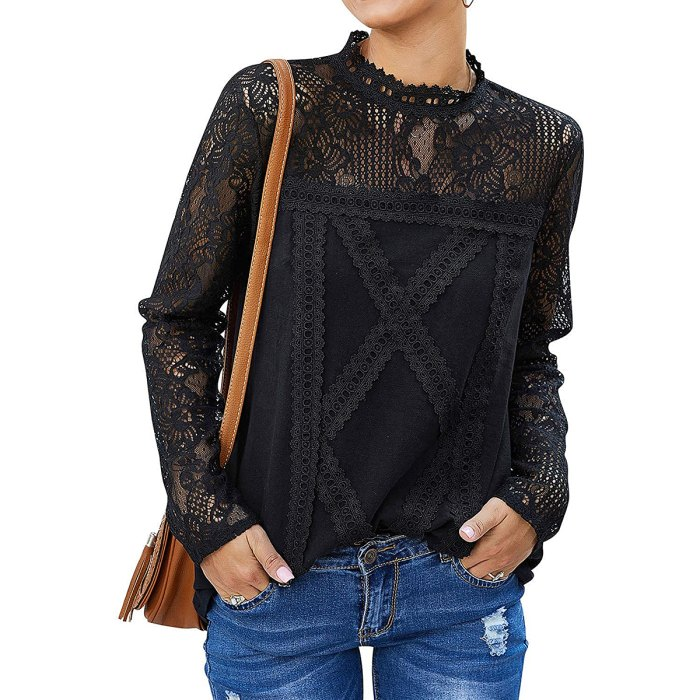 ZXZY Cute Lace Blouse