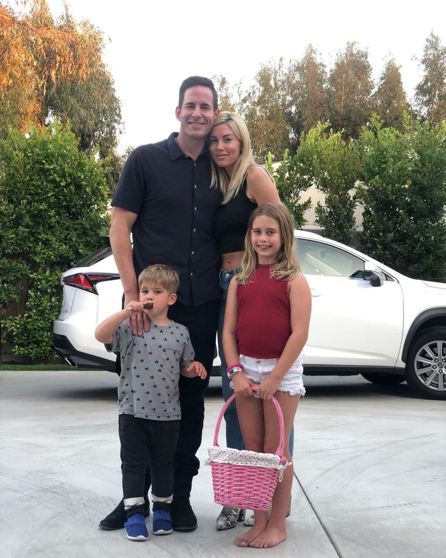 0 Heather Rae Young's Sweetest Moments With Tarek El Moussa's Kids