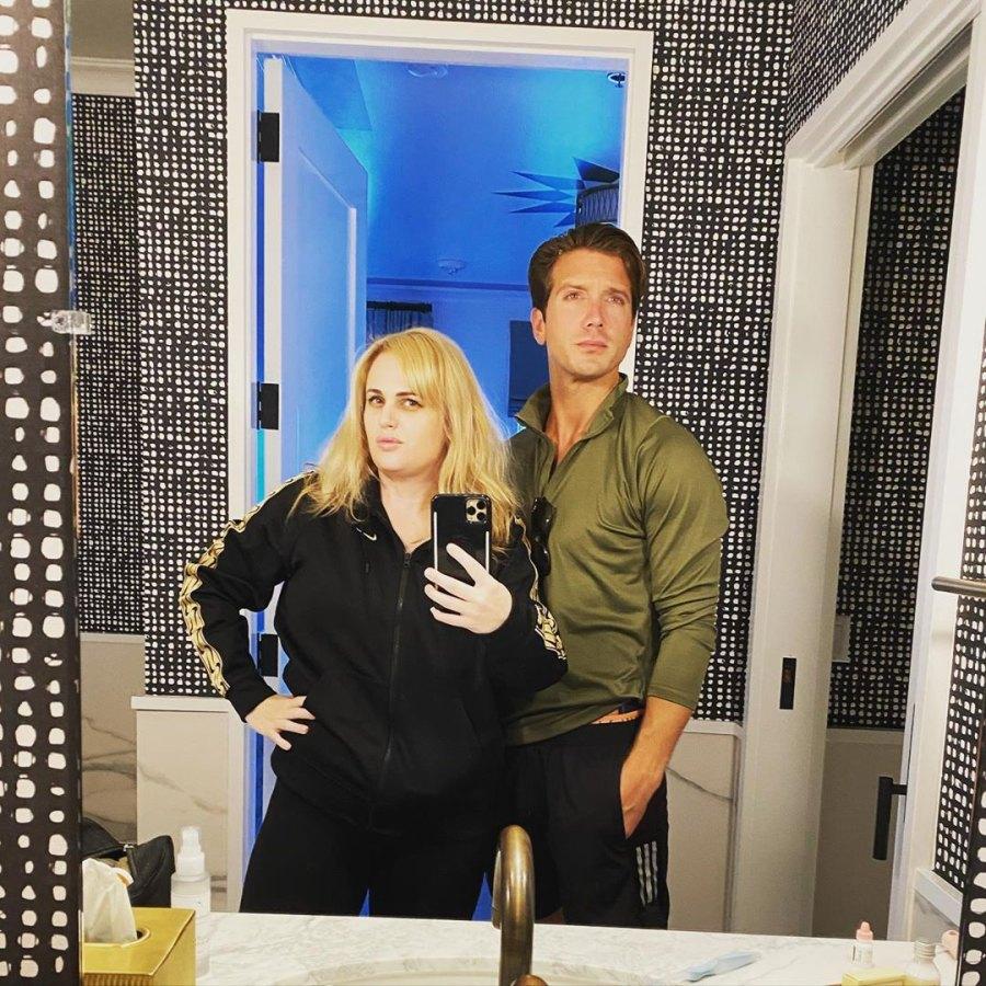 Rebel Wilson Shows Off Her Weight Loss in Selfie With Boyfriend Jacob Busch
