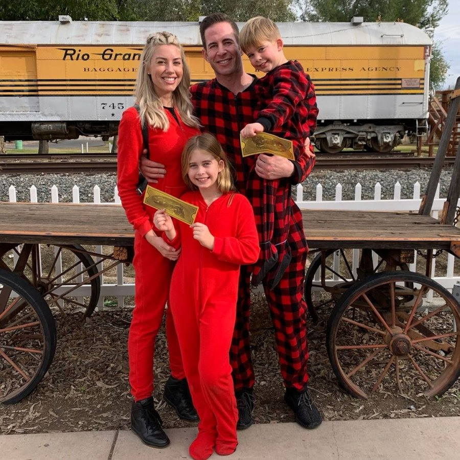 5 April 2020 Heather Rae Young's Sweetest Moments With Tarek El Moussa's Kids